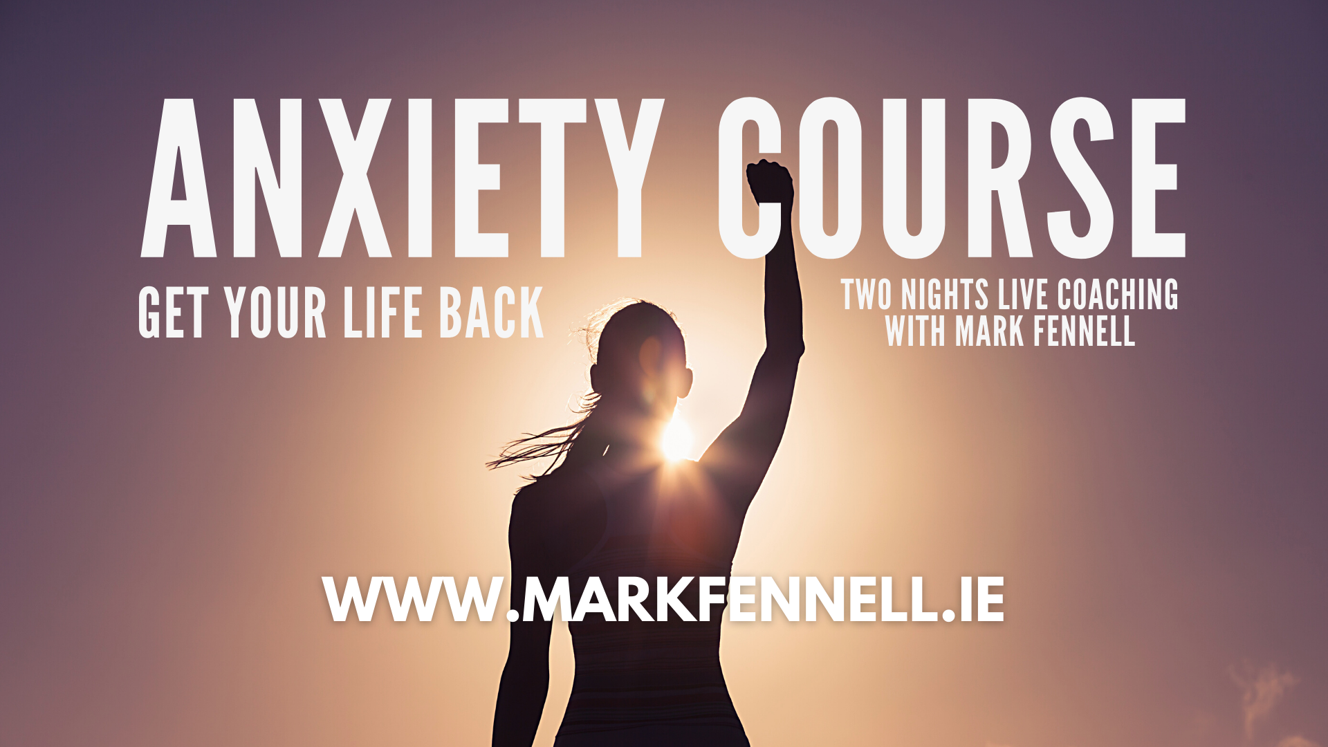 anxiety course